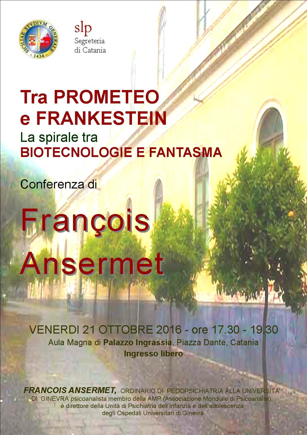 La spirale tra biotecnologie e fantasma: tra Prometeo e Frankestein