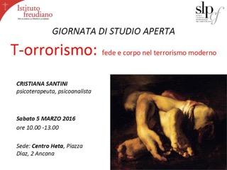 T-orrorismo: fede e corpo nel terrorismo moderno