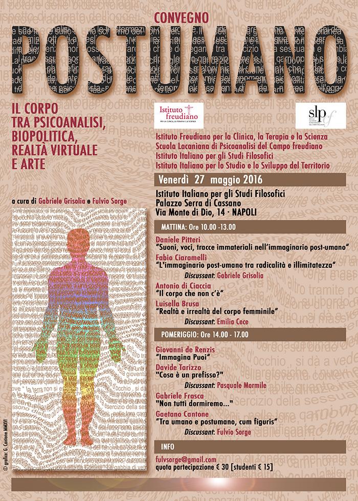 Il corpo tra psicoanalisi, biopolitica, realtà vistuale e arte