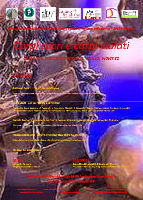 Corpi sacri e corpi violati