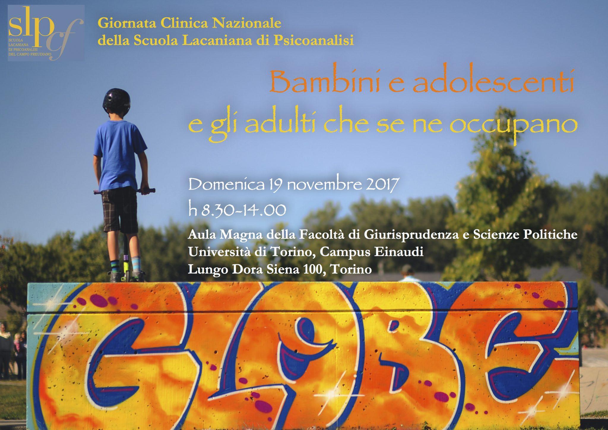 Giornata Clinica Nazionale: Bambini e adolescenti e gli adulti che se ne occupano