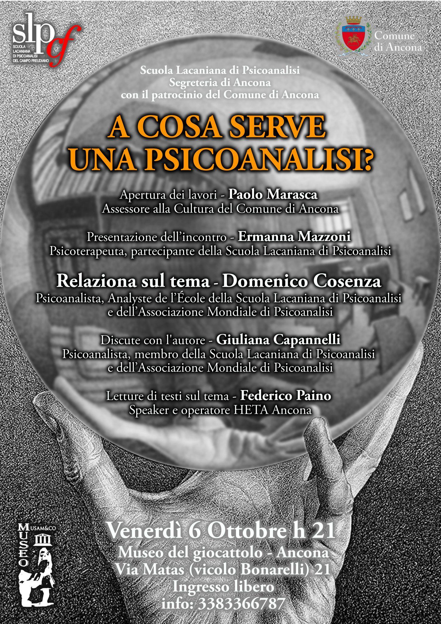 A cosa serve una psicoanalisi?