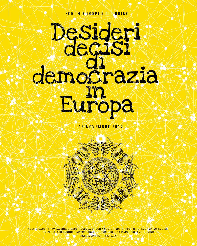 Forum Europeo: Desideri decisi di democrazia in Europa