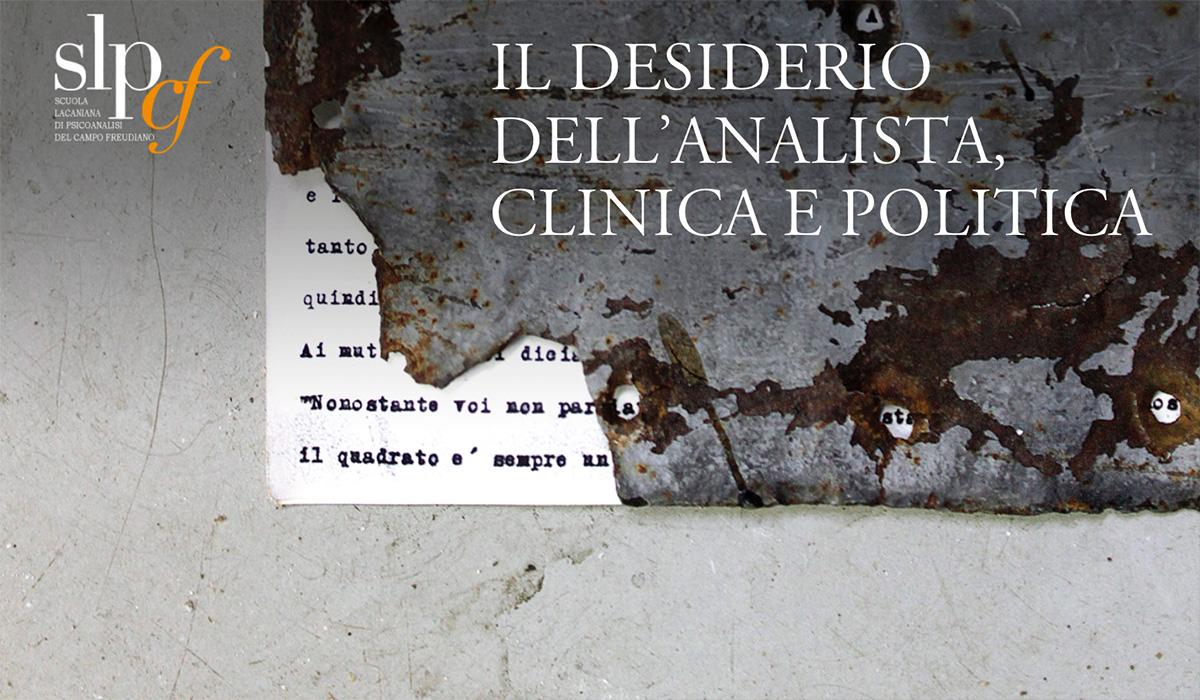 XVI Convegno della Scuola Lacaniana di Psicoanalisi