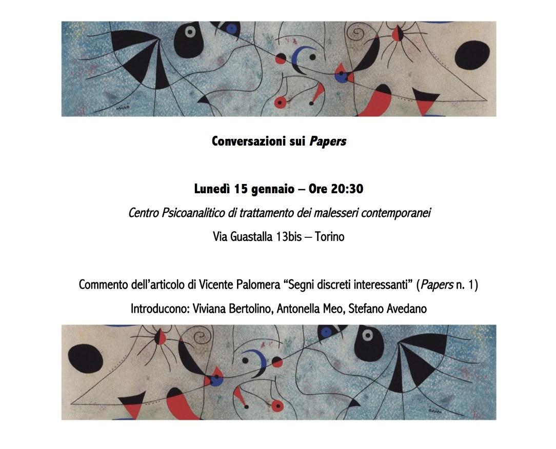 Conversazioni sui Papers