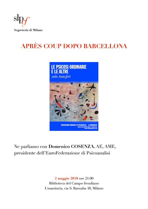 Après coup dopo Barcellona