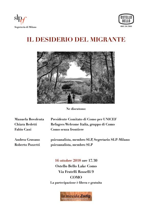 Il desiderio del migrante