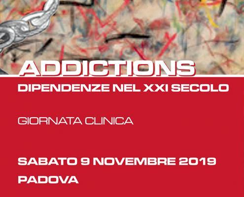 Giornata Clinica Nazionale: Addictions! Dipendenze nel XXI secolo
