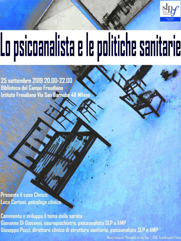 Lo psicoanalista e le politiche sanitarie