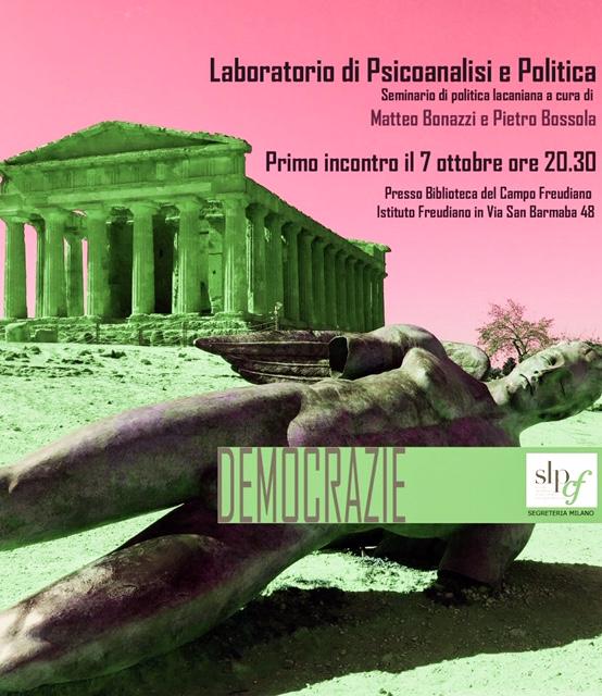 Laboratorio di Psicoanalisi e Politica