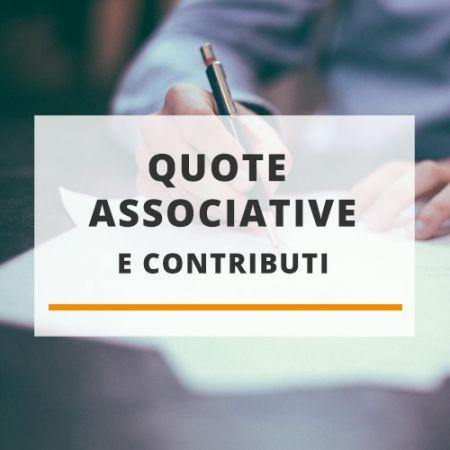 Quote associative e contributi