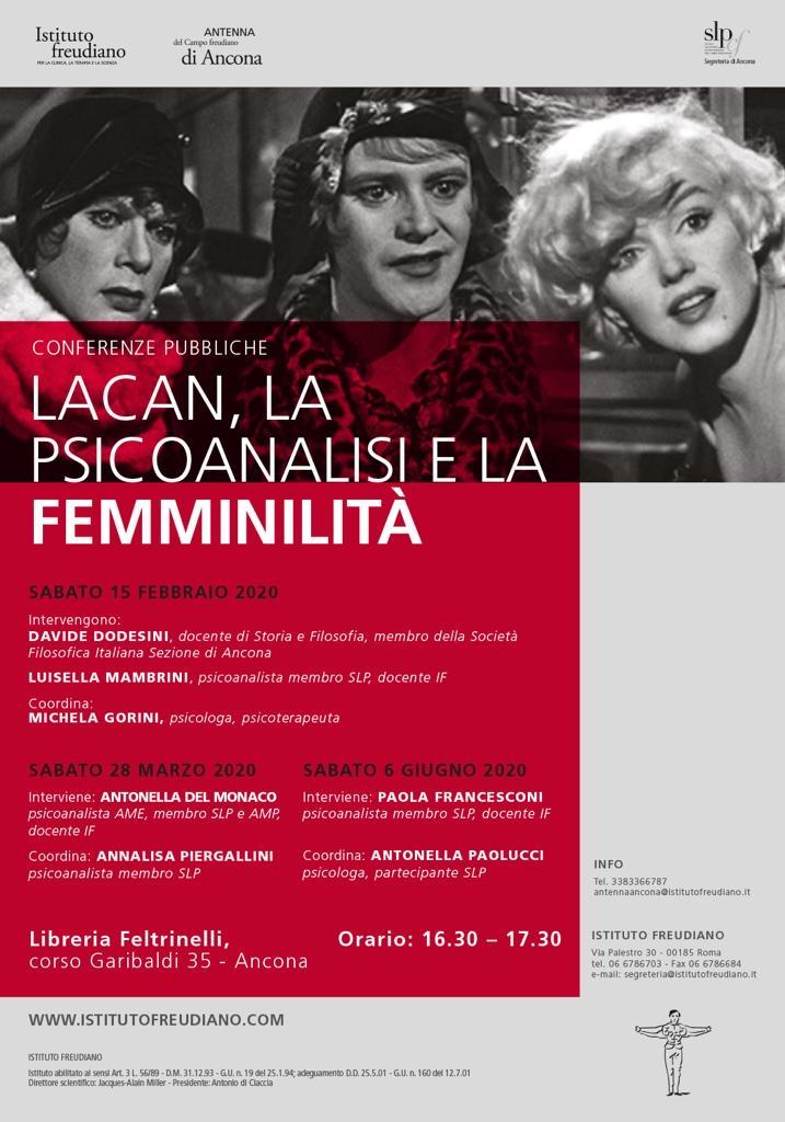 Lacan, la psicoanalisi, la femminilità
