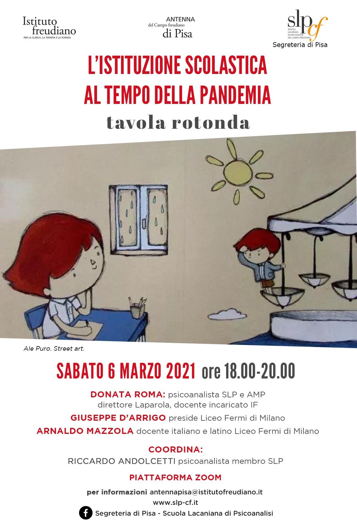 L'istituzione scolastica al tempo della pandemia