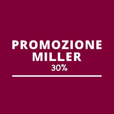 Promozioni Miller al 30%